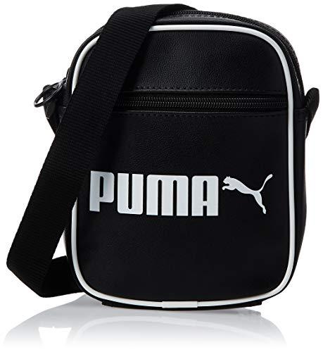 PUMA Unisex– Erwachsene Campus Portable Retro umhängetasche, Black, OSFA