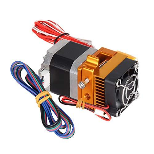 Kit de extrusora de alta calidad de 12V MK9 Kit de impresora 3D con ventilador de enfriamiento de boquilla de tubo de termistor para modelos DIY Makerbot - Multicolor 24V 40W