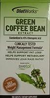 グリーンコーヒー豆からのサプリメント(Svetol含有) Green Coffee Bean Extract 180 Caplets Made with Svetol (海外直送品)