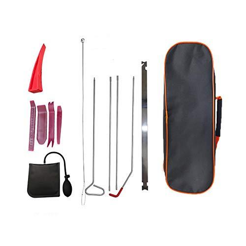 SHU Auto-Werkzeug-Set, Luftkeil, 10-teilig, Luftpumpe, Entsperren, Autotür, Notfall-Öffnung, tragbares Kit, aufblasbare Pumpe für Autos und LKWs