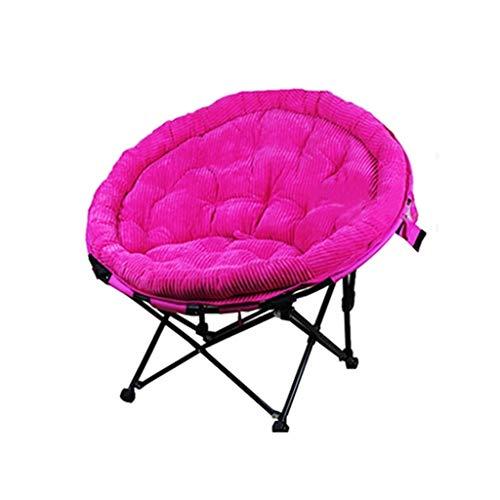 Chaise pliante de lune Chaise longue de salon pliante décontractée Bureau (amovible) (Couleur : B)