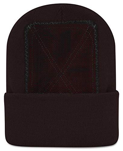 BACKSPIN Function Wear - Headspin Beanie Cap Farbe Braun, Größe One Size