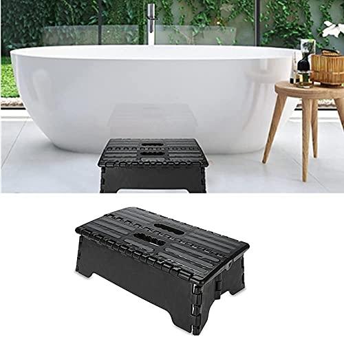 El taburete plegable del paso, taburete plástico portátil dobla el taburete plegable de la escabel del taburete para el uso del viaje de la cocina