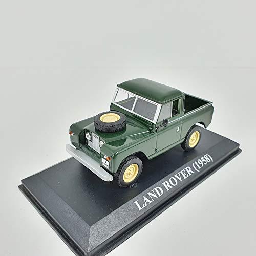 Desconocido 1/43 Auto Coche Car Land Rover Verde Pick-UP 1958 ALTAYA