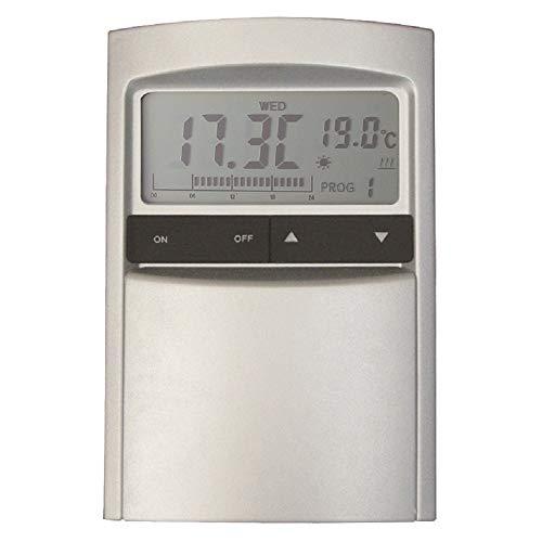 COATI 0 Cronotermostato programador digital af126630, Aluminio y grafito
