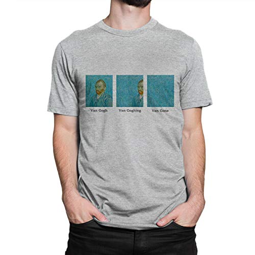Van Gogh Van Goghing Van Gone Funny T-Shirt, Cotton tee