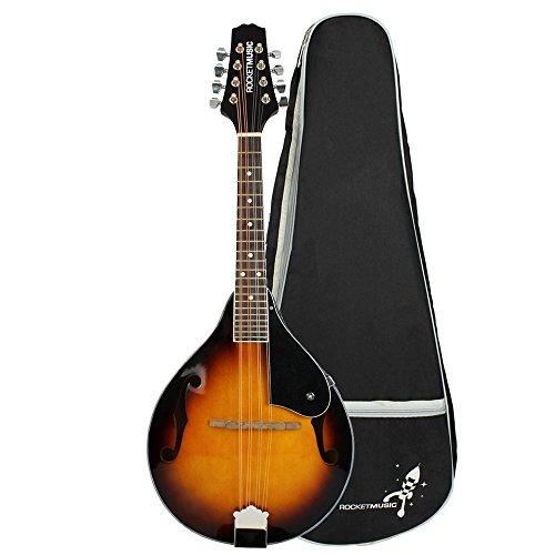 Rocket MAB01 Mandolino Bluegrass Tradizionale, Violinburst