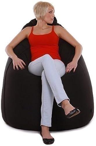 re-bax jumbo XL   Sitzsack mit Outdoorstoff-Bezug   Größe  ca. 135 cm   Durchmesser  ca. 90 cm   Füllvolumen  ca. 500 l