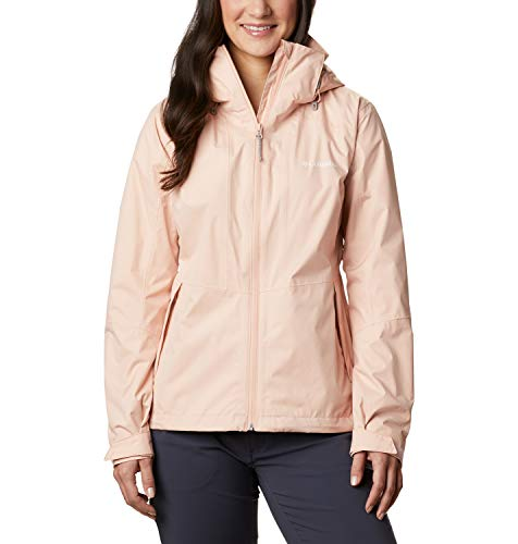 Columbia Damen Windgates Wasserdichte Jacke, Rosa (Peach Cloud), XL