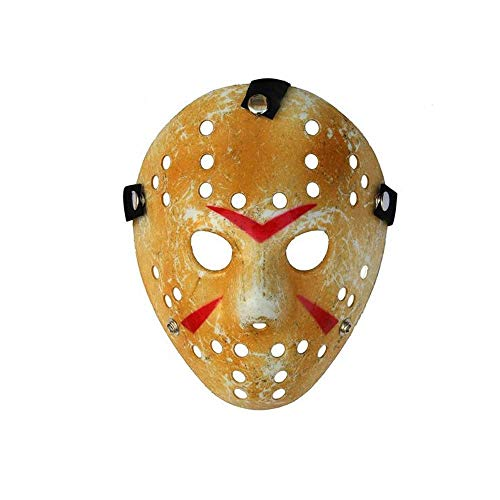 QUantd Film Action Figure 3D Maske Säge Säge Schwert Axt Horrormesser PVC Modell Spielzeug Heimdekoration Dekoration-Jason-Maske