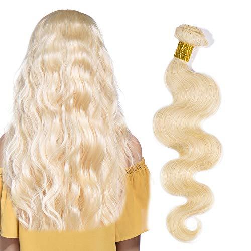 Rich Choices Umani del Virgin Capelli biondi Remy estensioni dei capelli 100g / pack 1 Bundle grado 8A brasiliano non trattato dei capelli del tessuto di trama
