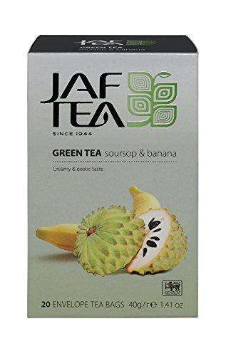 JAF TEA Grüner Tee - Stachelannone & Banane - 20 Teebeutel