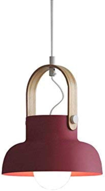Nordeuropa Persnlichkeit Ideen Einstellbare Eisenkunst Kronleuchter Moderne und einfache Schlafzimmer Nachttischlampe Deckenleuchte Thema Holz Ring Pendelleuchte (Design  9)