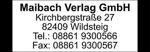 Adressaufkleber - Adressetiketten Rahmen farbig - 512 Stück, ca. 48 x 17 mm, 1-5 Zeilen beschriftbar, viele Farben (schwarz)