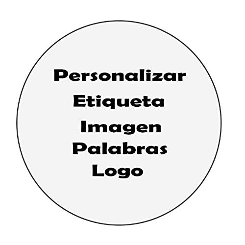 Personalizar Etiqueta Negocio Logo Adhesivas Impermeable PVC Fiesta Boda Navidad Etiquetas Personalizadas Círculo Redondo...