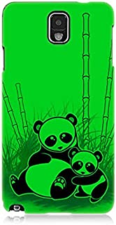 Samsung Galaxy Note 3 Pandalar Desenli Silikon Kılıf