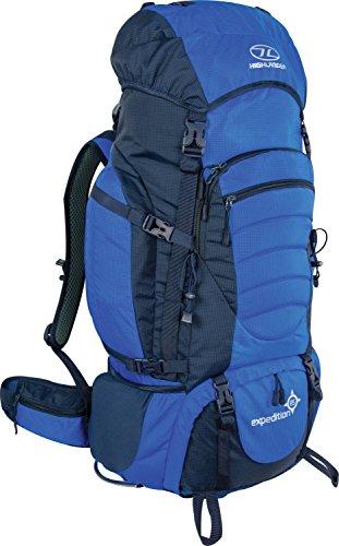 HIGHLANDER Expedition Mochila  Unisex adulto  Azul  65