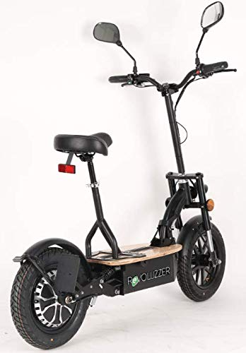 REVOLUZZER 3.0 20 Basic, 600W 12Ah, 20km/h, schwarz, mit StVZO E-Scooter