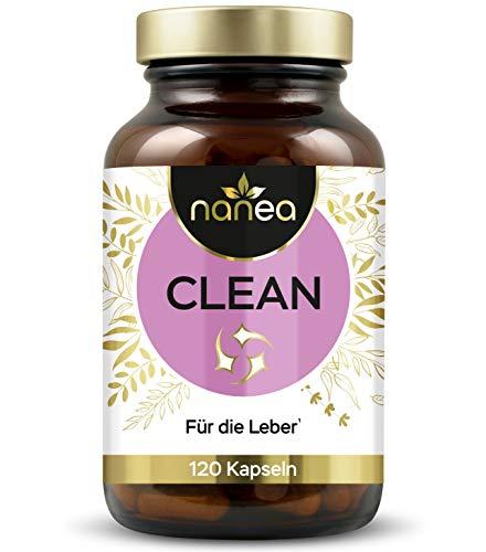 Leber-Komplex | Hochdosierter Leber-Kapseln mit Cholin, Mariendistel, Löwenzahn, Artischocke uvm. | ohne unerwünschte Zusatzstoffe | Made in Germany