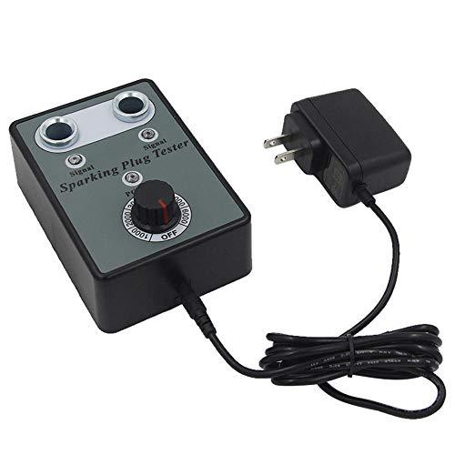 QXJTX Autoreparaturwerkzeuge. Upgrade Autor Zunritzerstecker Zündprüfer Automotive Diagnosewerkzeug Doppelloch Analysator für 12V Benzinfahrzeuge Autoreparaturwerkzeuge (Color : US Plug)