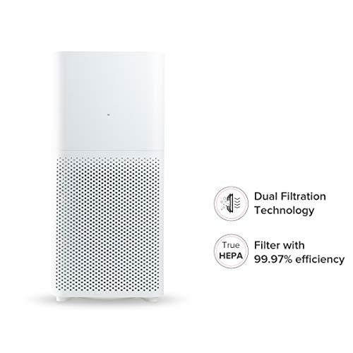 Mi Air Purifier 2C with True HEPA Filter (White)