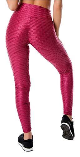 S.F. Mallas Legging Fitness Mujer Pantalones Deportivos para Yoga Running Crossfit, Push UP, Efecto Adelgazante y Anti-Celulitis