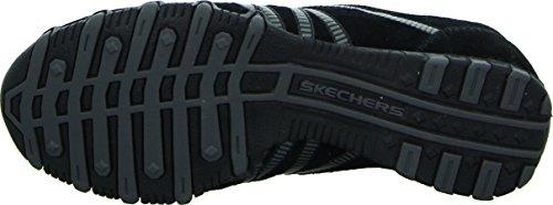 Skechers BikersHot-Ticket, Damen Sneakers, Schwarz (BKCC), 38 EU - 5