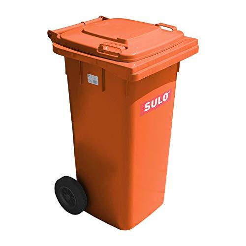 Mülltonne Müllbehälter 120 l orange-Vario