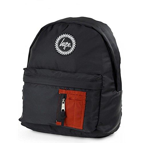 HYPE MA1 Bomber Backpack Black/Cedar School Bag AW17620 HYPE Bags