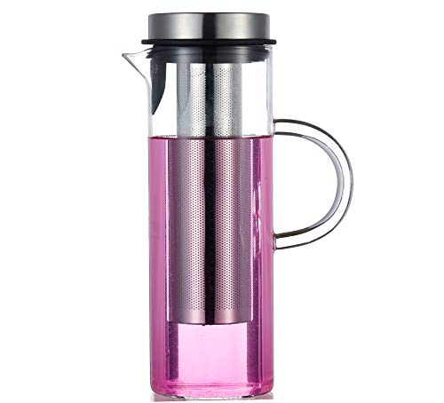 fruit infused water pitcher glass - 8