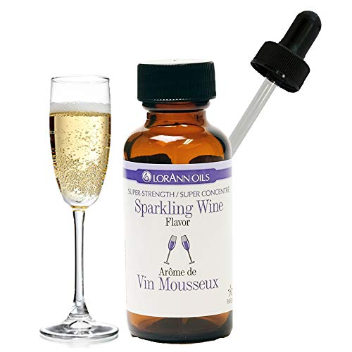 LorAnn Sparkling Wine Super Strength , 1 ounce bottle with Dropper