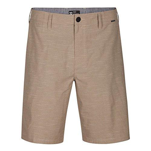 Shorts híbridos Hurley Phantom Jetty 50,8 cm – Cáqui – 34