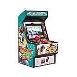 wjf Consola de Juegos portátil, Mini Consola de Juegos Arcade de 2,8 Pulgadas, Consola de Juegos Retro clásica Recargable de 16 bits 156 para niños