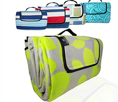 """ANJ Outdoors XXL 3-Layer Waterproof Outdoor Blanket for Picnic, Beach and Camping 