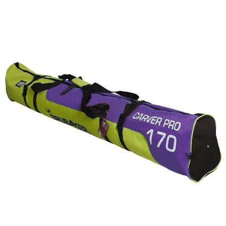 Brubaker Carver Pro 2.0 - Bolsa acolchada para esquís (cierre de cremallera, 170...