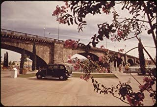 HistoricalFindings Photo: England's London Bridge, at Home in Lake Havasu City Since 1971, May 1972