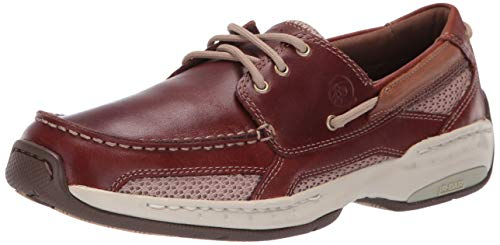 Dunham Hombre Captain Boat Shoe, Brown, 44 6E EU