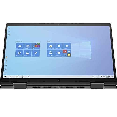 HP Envy x360 Convertible Touchscreen 13.3-inch FHD Laptop (3rd Gen Ryzen 5 4500U/8GB/256GB SSD/Win 10 Home/Night Fall Black/1.32kg), 13-ay0044AU