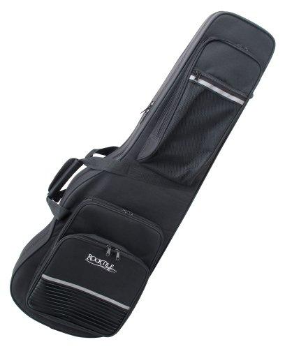 Rocktile Leichtkoffer für E-Gitarre (Lightcase für E-Gitarre, reiß- und wasserfestes Außengewebe, hochwertige Thermopolsterung, Innenmaße maximal (LxBxT): 101 x 32 x 7 cm)