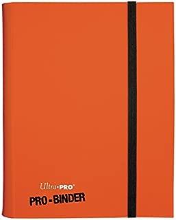 Ultra Pro 9-Pocket PRO-Binder Card Holder, Orange