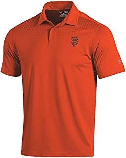 Under Armour Under Armour San Francisco Giants Orange Coolswitch Ice Pick Performance Polo シャツ ポロシャツ 【並行輸入品】