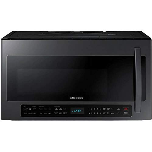 Samsung 2.1 Cu. Ft. Black Stainless Steel Over The Range Microwave