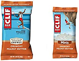 Clif Bar Crunchy Peanut Butter Pack 10 and 10 Mini Energy Made with Organic Oats Plant Based Food Vegetarian Kosher...