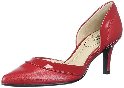 LifeStride Women's Saldana Pump, fire red, 8 M US