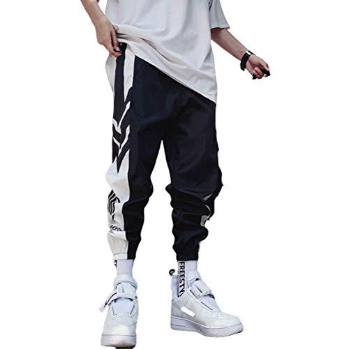 N/ A Pantalones Deportivos para Hombre Pantalones de chándal Nueve Puntos Pantalones Deportivos Deportivos para Hacer Ejercicio, Gimnasio, Trotar, Correr, Entrenar