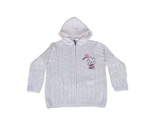 lupilu® Baby Mädchen Strickjacke aus 100% Baumwolle mit Kapuze Gr. 86/92