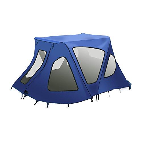 ALEKO BWTENT420B Winter Waterproof Canopy Boat Tent Sun Shelter Sunshade for...
