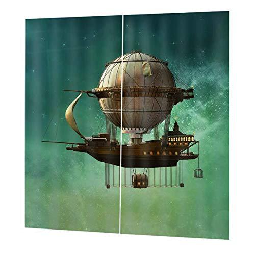 Funnyrunstore Globo aerostático Retención magnética Tieback para Voile Net Cortina DIY Accesorio Cortina de la Ventana Sombra Decoración Duradera (Color: Marrón)