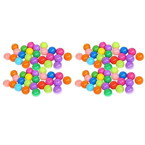 JINSUO Piscina de Bolas de Las Bolas del océano con la Cesta de los niños del Juguete del océano Ball Pit Baby Playpen Tienda Tienda de Juguetes al Aire Libre para niños (Color : 100 pcs Ball)