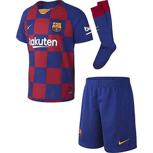Nike FCB LK Nk BRT Kit Hm Sport-Set, Unisex Kinder, Unisex Kinder, AO3052, tiefes Königsblau/Varsity-Mais, S (104-110cm / 4-5 años)
